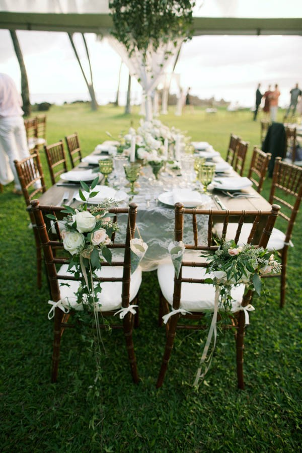 Stylish Hawaiian Wedding At White Orchid Beach House Junebug Weddings