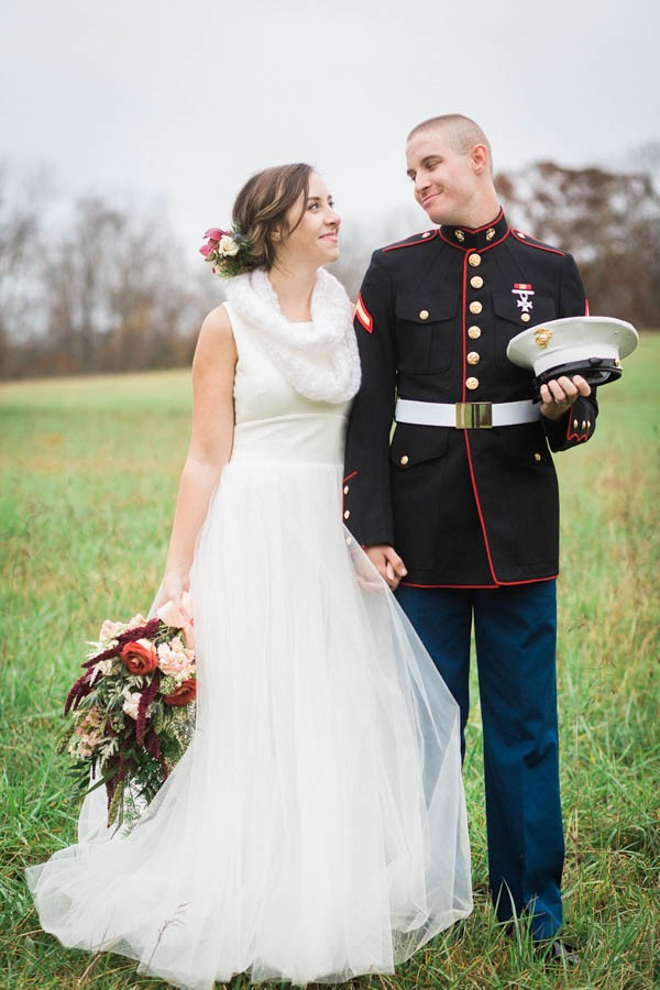Snuggle Up and Enjoy This Winter Wedding at Gunpowder Falls State Park