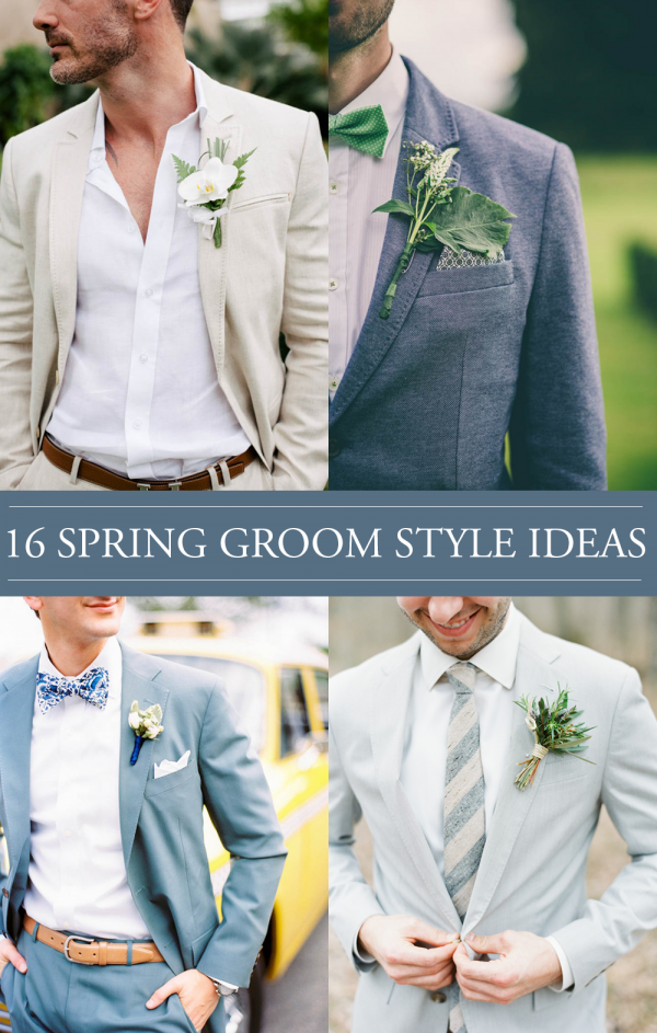 Your Guy Will Love This Spring Groom Style As Much You Do Junebug Weddings