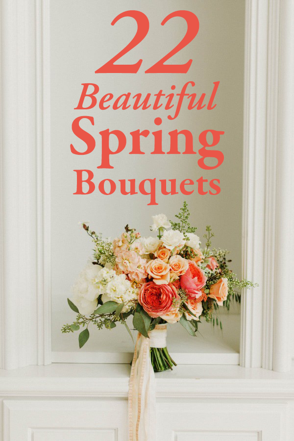 22 of the most beautiful spring bouquets for your wedding junebug 22 beautiful spring bouquets mightylinksfo