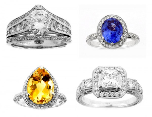 add sparkle to your bridal style with Bridal Rings!