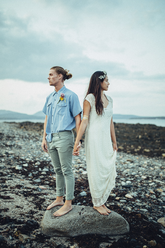 Love Surfing This Maine Beach Wedding Inspiration Is For You