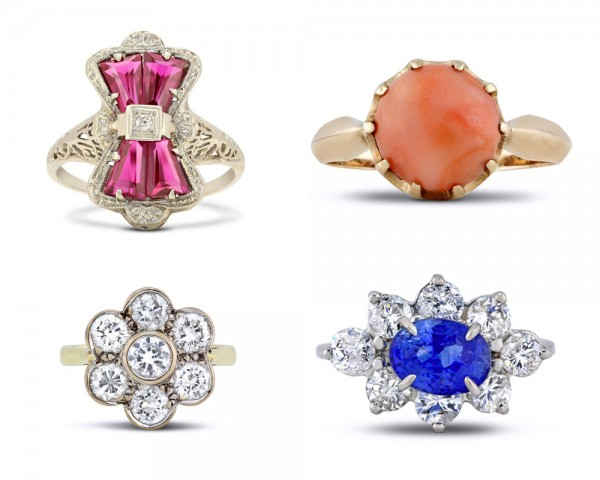 add sparkle to your bridal style with Gerard Leon rings!