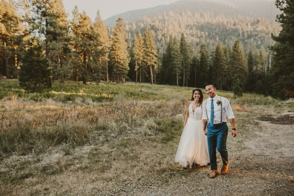 Impossibly Romantic Woodland Wedding at YMCA Camp Round Meadow