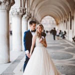 Insanely Romantic Grace Kelly Inspired Venice Elopement