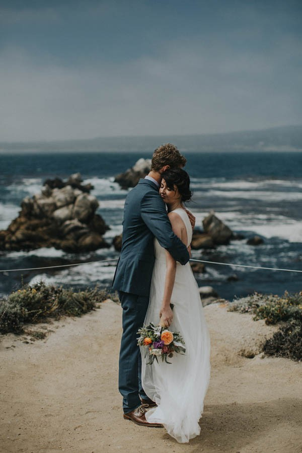 Intimate California Coast Wedding At Point Lobos State Natural Reserve