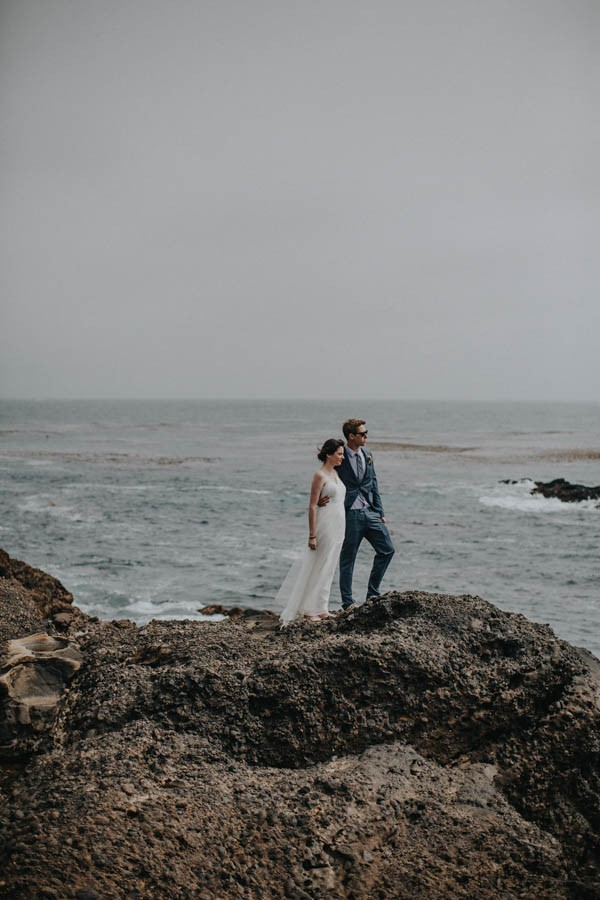 Intimate California Coast Wedding At Point Lobos State Natural Reserve Junebug Weddings