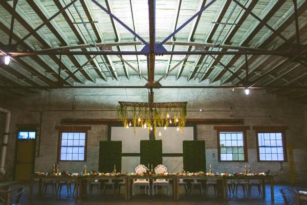 Elegant Mint Orange Vintage Florida Wedding Artisan Alley Garage