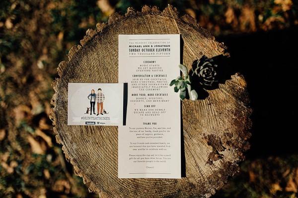 Modern-Cuyahoga-Valley-Wedding-Dark-Wood-Succulents-Addison-Jones-30