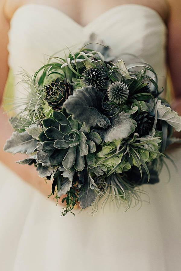 Modern-Cuyahoga-Valley-Wedding-Dark-Wood-Succulents-Addison-Jones-8