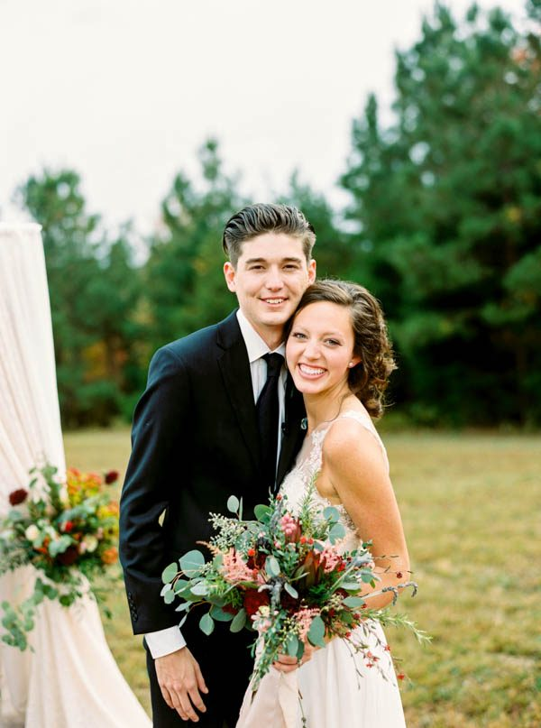 Modern Rustic Red And Sage Green Wedding At Castleton Farms Junebug Weddings