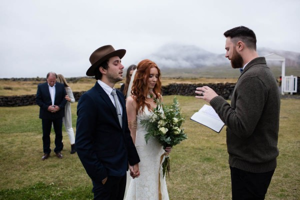 Pionate Iceland Destination Wedding Budir Church 24