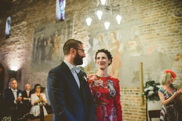 Forget White: This Bride Wore a Red Dolce & Gabbana Dress to Her ...
