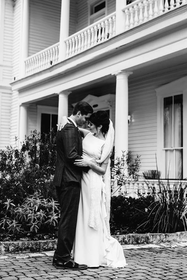 Romantic Austin TX Garden Wedding At The Allan House