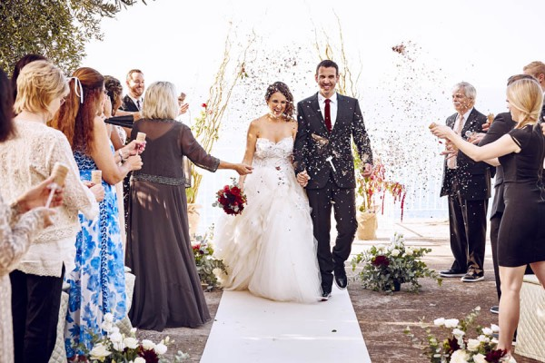 The Italian Villa Gallery Multi Award Winning Wedding: Rose Gold And Burgundy Italian Wedding At Villa Silvana