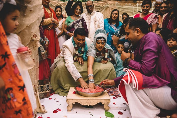 This Two-Day Hindu Wedding in Essex Beautifully Combines Tradition ...