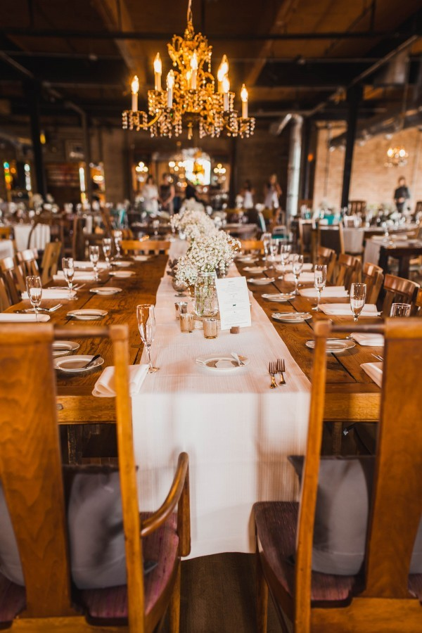 Vintage Chicago Wedding At Salvage One 24 Of