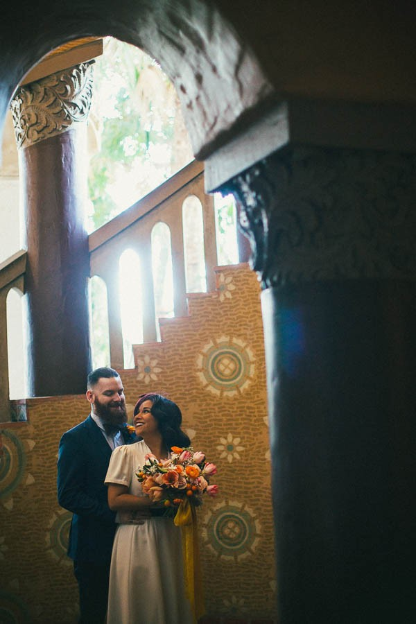 WWII-Inspired-Elopement-Santa-Barbara-County-Courthouse-Jenn-Sanchez-Design-11