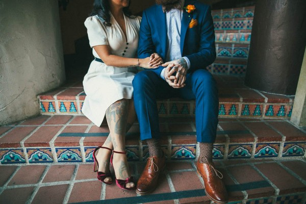 WWII-Inspired-Elopement-Santa-Barbara-County-Courthouse-Jenn-Sanchez-Design-13