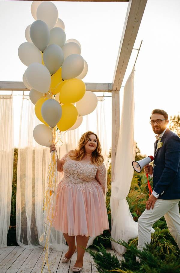 Whimsical DIY Wedding at Stara Oranzeria in Poland