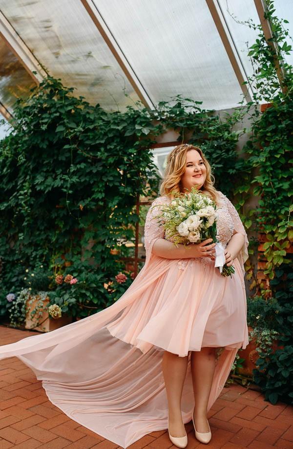 Aleksandra plus sizes dress