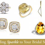 Adding Sparkle to Your Bridal Style