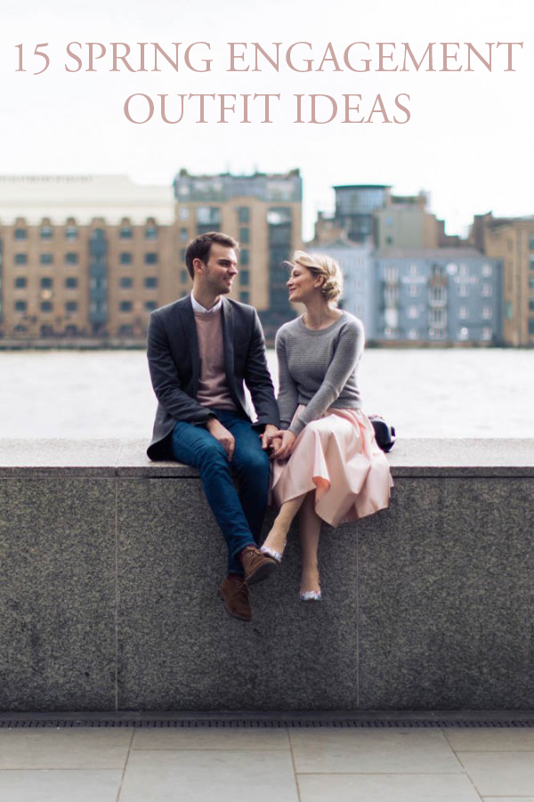 15 Fresh And Fashionable Spring Engagement Outfit Ideas