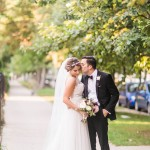 Blush and Metallic Chicago Wedding at Stan Mansion