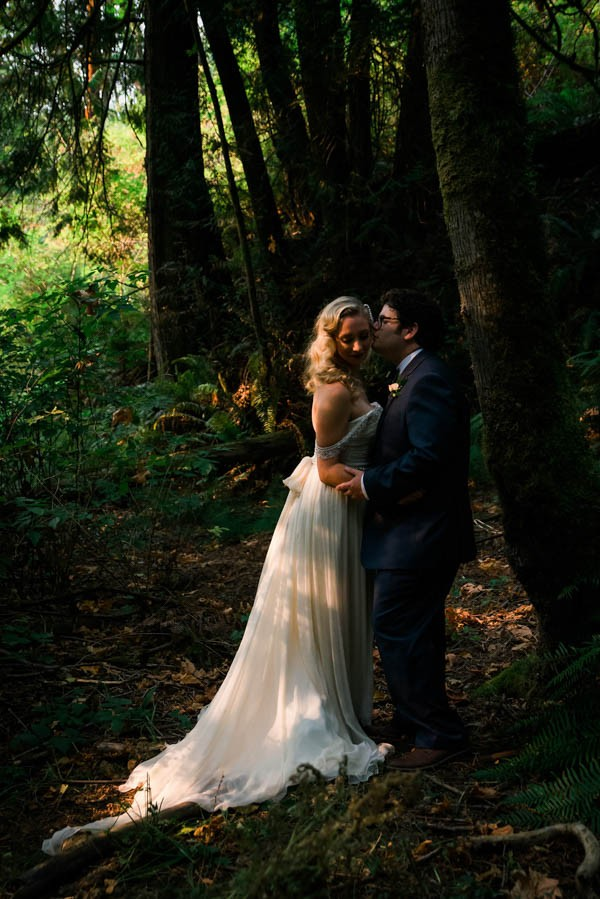 diy fairy tale backyard wedding in bellingham washington