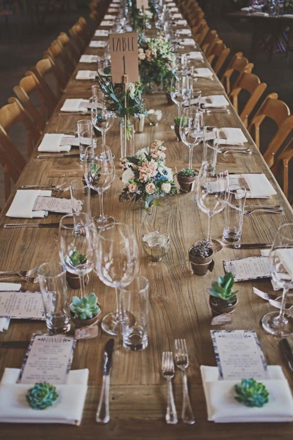 Green Cake Table Decor