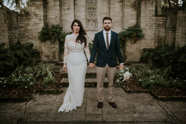 Historical Garden Wedding at the Maitland Art Center
