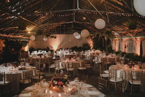 Luxe Jewel Tone Wedding Fairmount Park Horticulture Center
