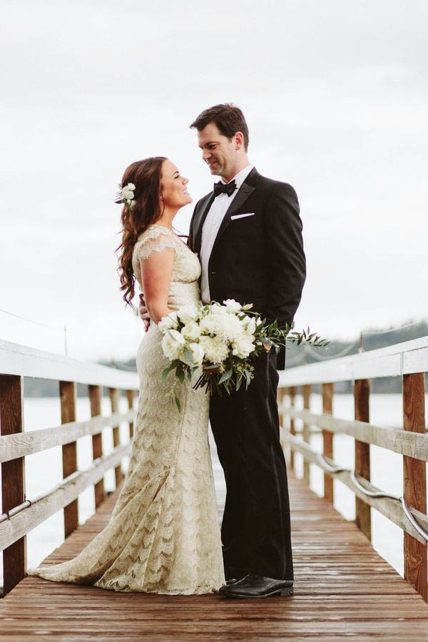 New Orleans Inspired Wedding in the Pacific Northwest at Kiana Lodge ...