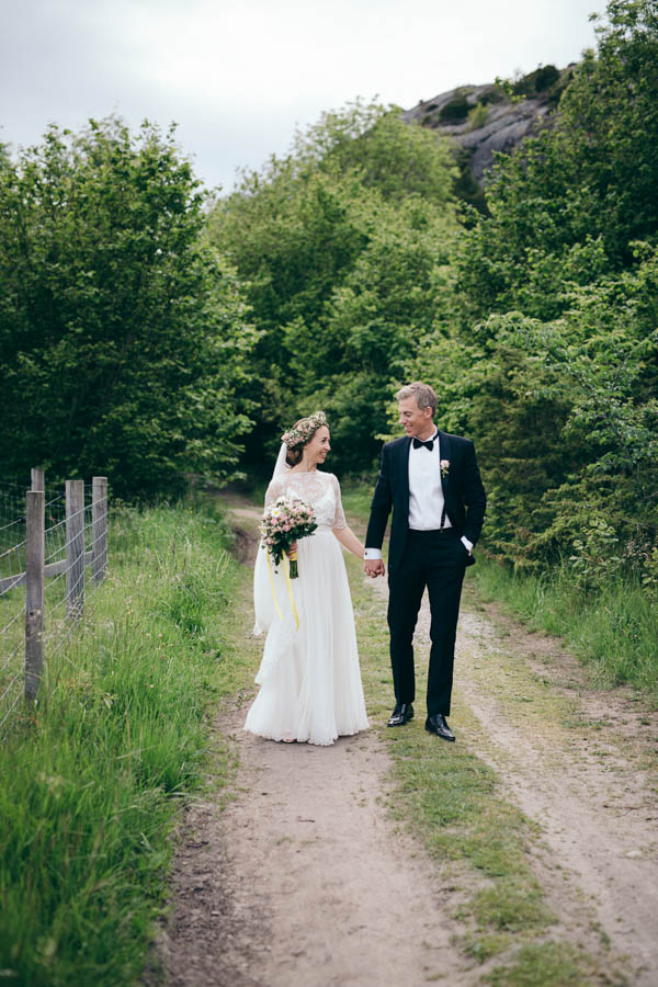 Scandinavian Midsummer Wedding At Hotel Koster Junebug