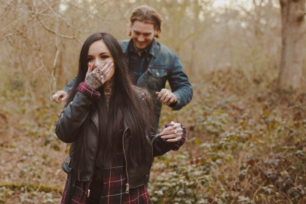 Sexy-Harley-Davidson-Engagement-Photos-Ruislip-Woods-26