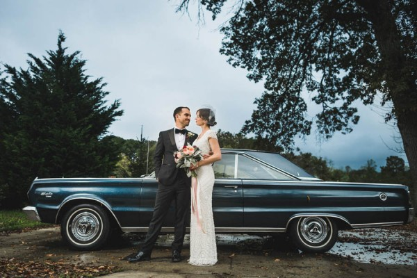 This Asheville Wedding at Yesterday Spaces is Full of Vintage Rustic Details