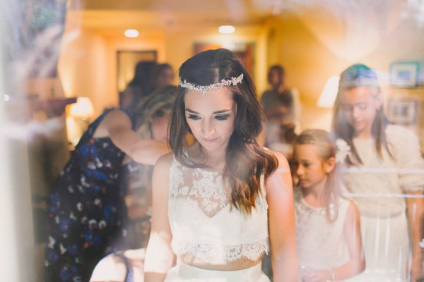 This california bride had her mothers gown altered into a crop top we had framed photos near the top of the aisle of our parents and grandparents on their wedding days junglespirit Image collections