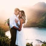 This Couple's Koolauloa, Hawaii Anniversary Shoot is Like a Free Trip to Paradise