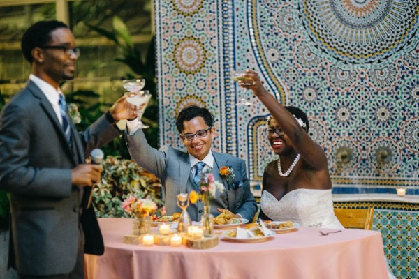 Vibrant Light Hearted Chicago Wedding Garfield Park Conservatory