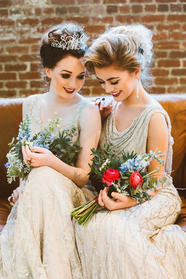 Modern Vintage Bridal Inspiration in Joyce Young Couture