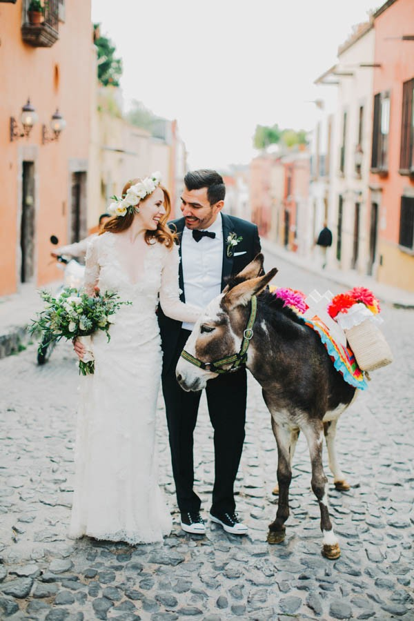 Festive and Fabulous Mexico Destination Wedding in San Miguel de Allende