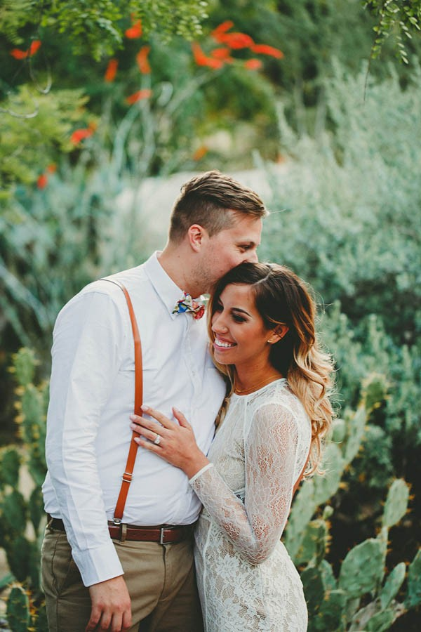 Intimate Pop-Up Elopement in Palm Springs, California