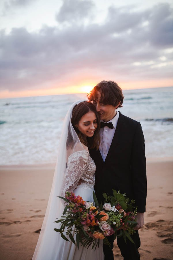 Sunset Wedding Shoot At Manly Beach In Sydney