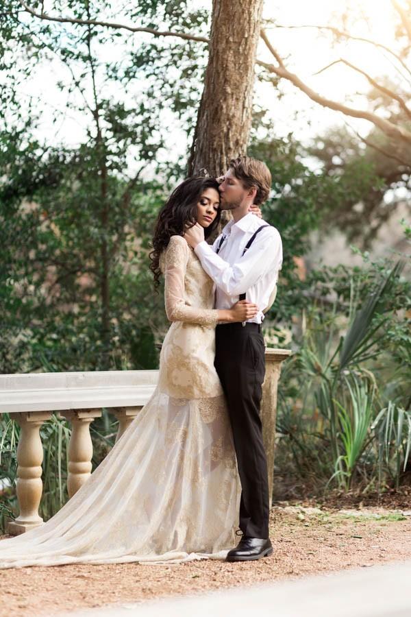 Texas Bohemian Wedding Style Laguna Gloria Holly Kringer