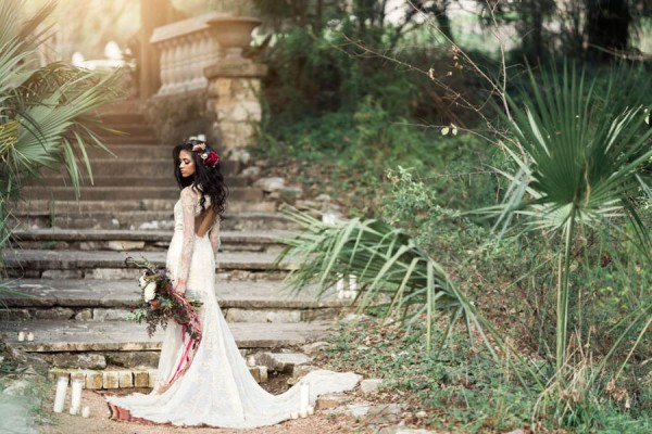 Texas Bohemian Wedding Style Laguna Gloria Holly Kringer