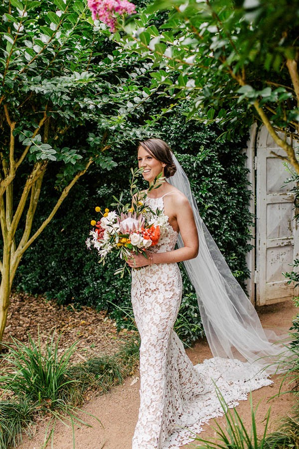 Australian Garden Party Wedding at Merribee House | Junebug Weddings