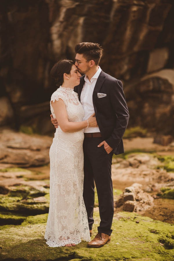Bondi Beach Wedding with Vintage Australian Vibes