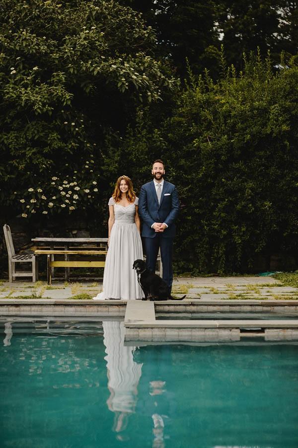 Naturally Beautiful Pioneer Farms Wedding In Warwick New York Junebug Weddings