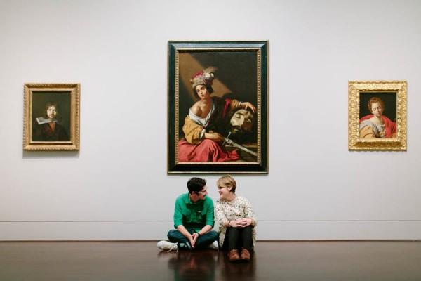Blanton Museum engagement