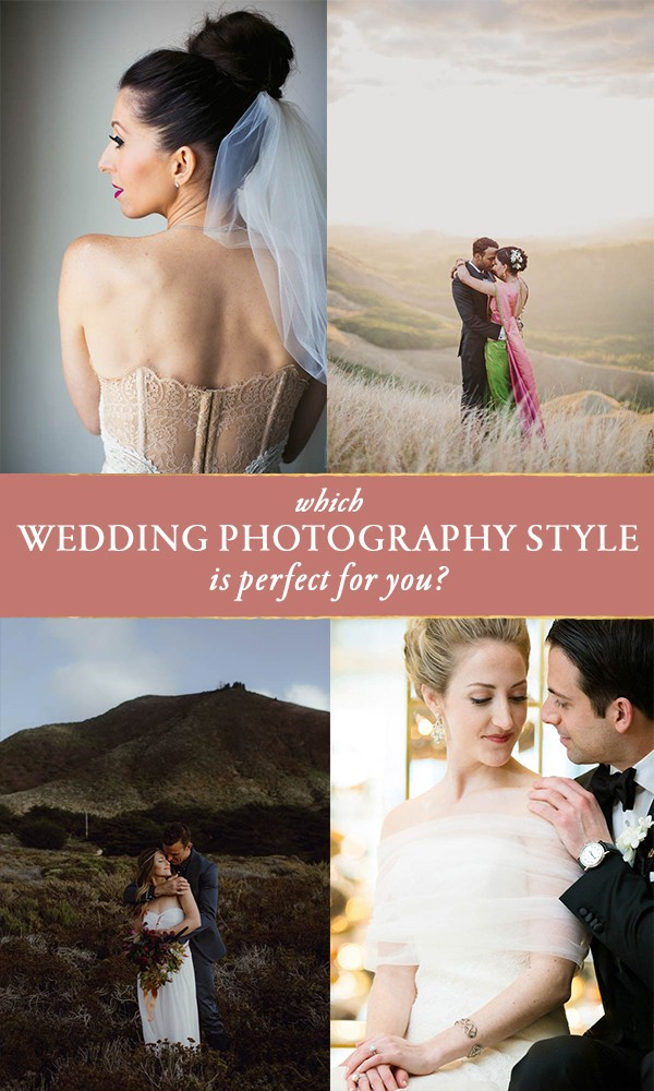 which wedding photography style is right for you